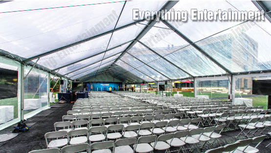 Clear top tent, clear roof tent, windowed tent, event tent rental, frame tents, marquees, clear top tents, tent lights, temporary flooring, everything events, staten island tents, ny event planning