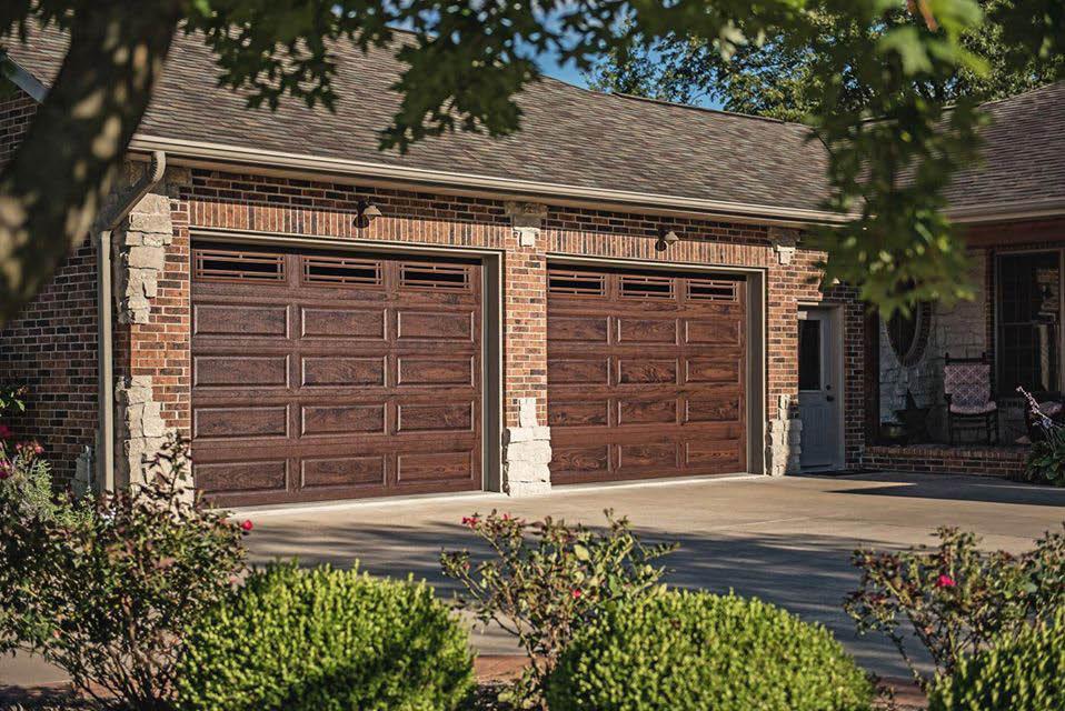 Single garage door installation