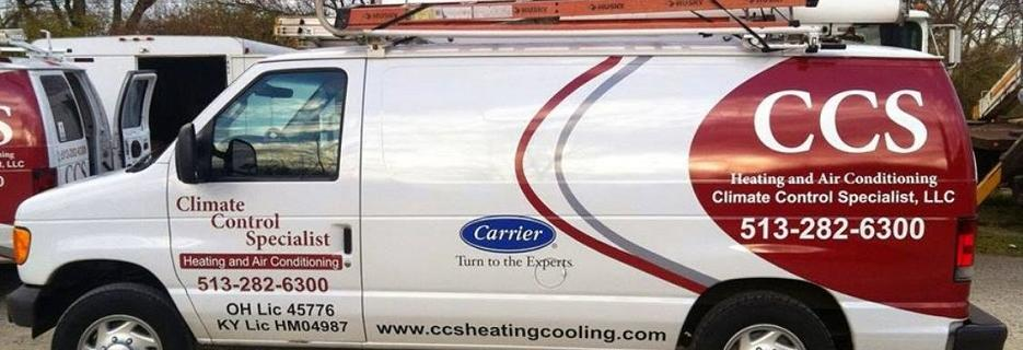 CCS heating and cooling climate control specialists lebanon west chester mason springboro ohio