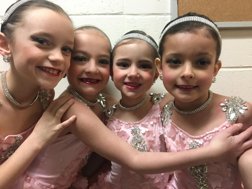 girl dance team; Calvert School of Dance located in calvert county, maryland