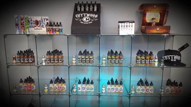 Cloud City Artisan Vape Juice Selection near Destin