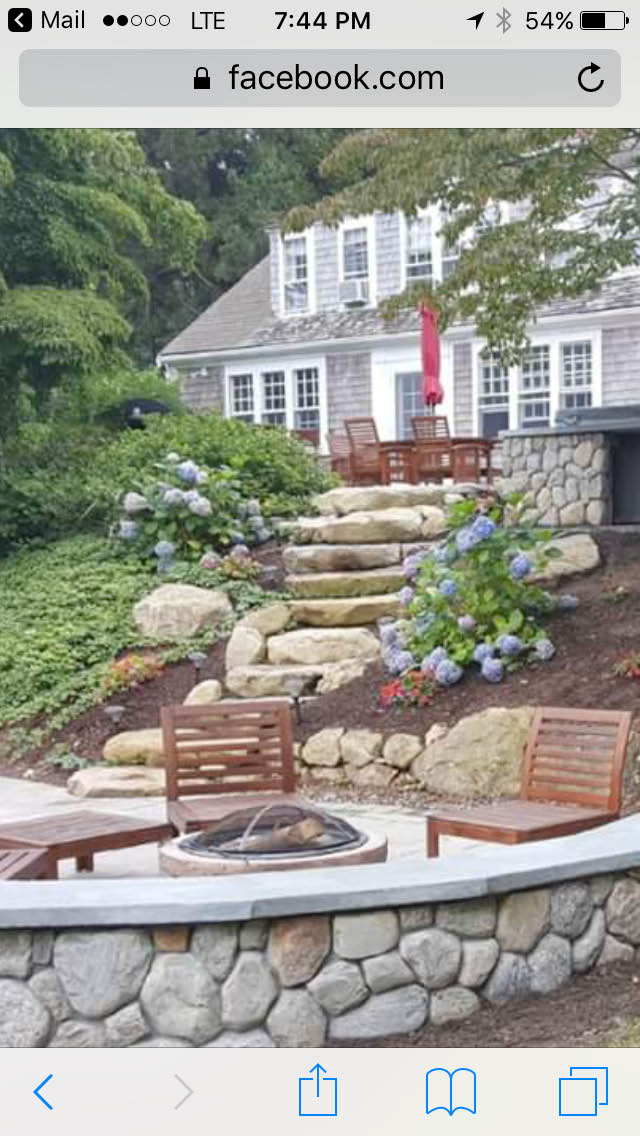 If you have an uneven yard call Clover Landscape today. We can help you get better usage & better accessibility of your hard to reach areas in your yard. Always start with a plan. Call Clover Landscape today for an appointment