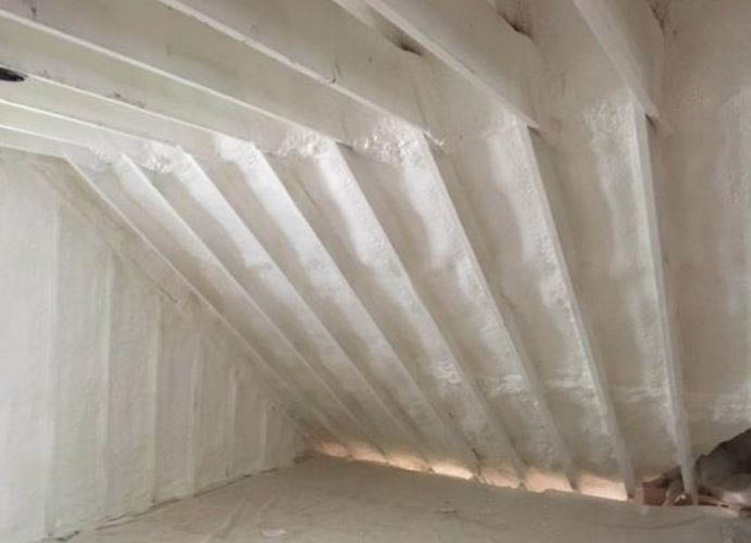 insulation, cooling, vapor barrier