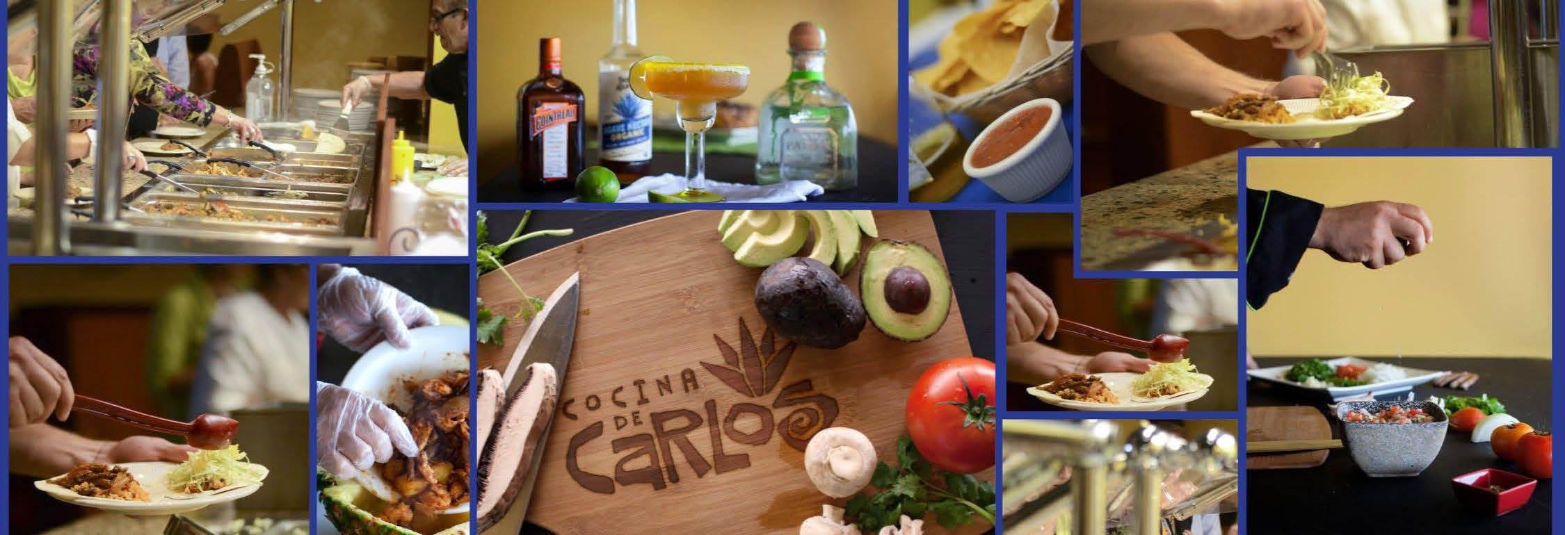 cocina de carlos authentic mexican restaurant tacos burritos fajitas margaritas