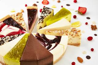 Desserts at dessert shop