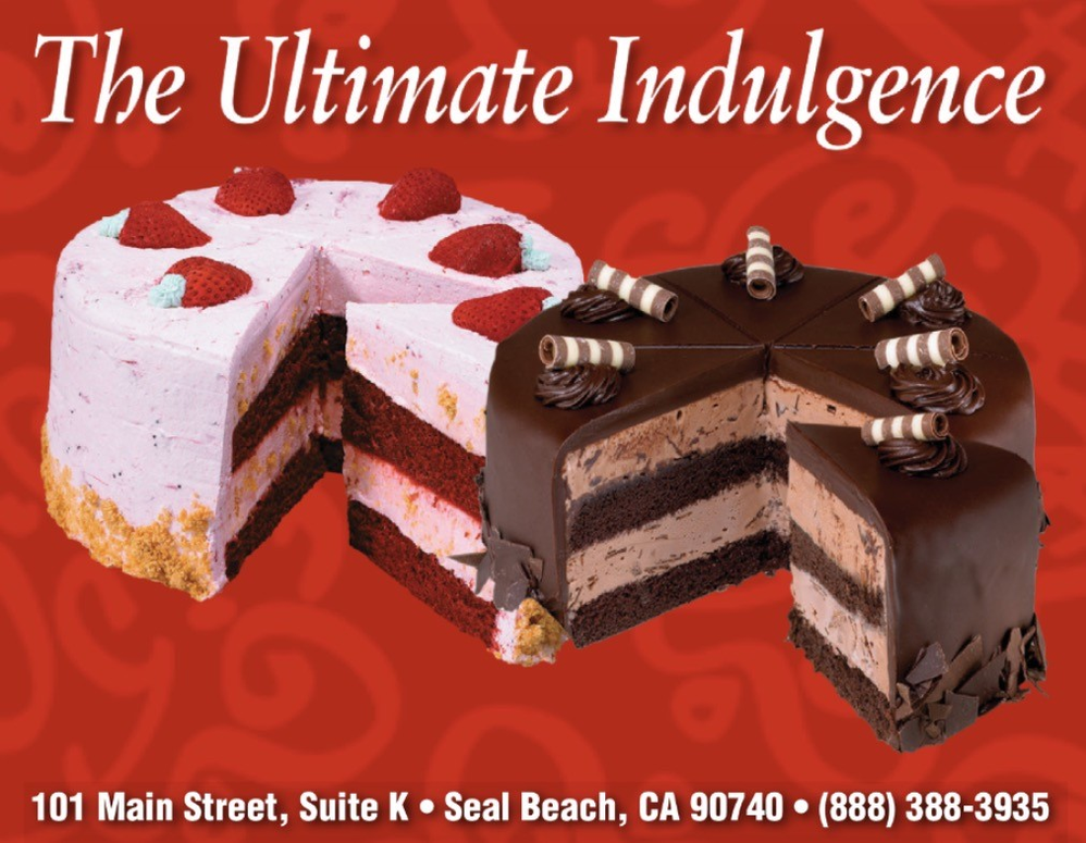 The Ultimate Indulgence chocolate and red velvet ice cream cake