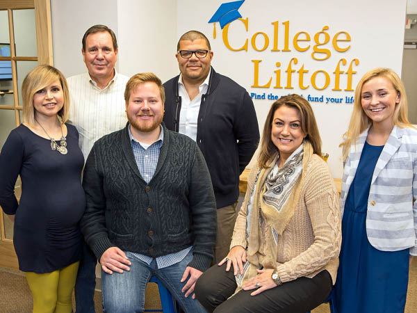 College Liftoff team