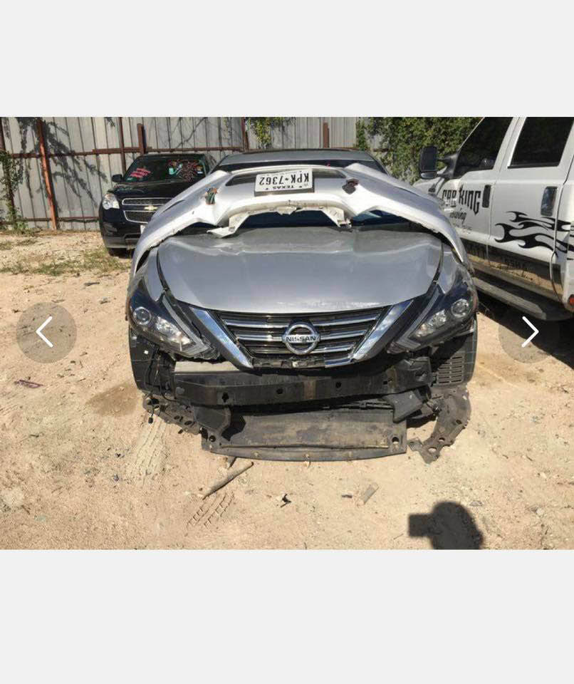 Car before repair work by Collision King in Houston, TX