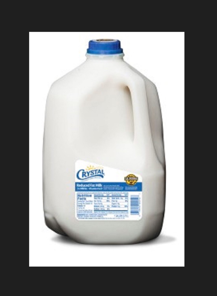 One gallon of Crystal milk - 64 oz. - buy 2 and save