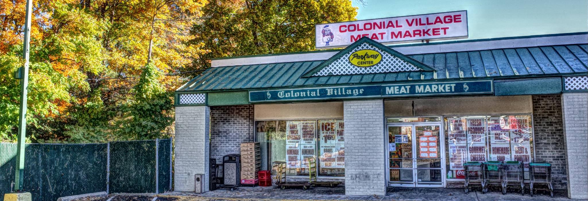 colonial village meat market, deli, meat, west chester, meat in west chester