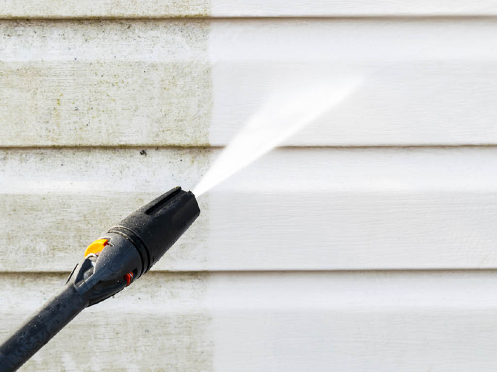 Color World House Painting exterior power washing