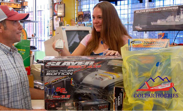 colpar Hobbytown in Aurora and Lakewood, CO carries games