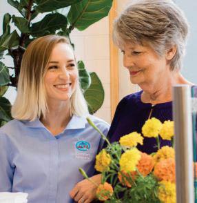 nursing service, housekeeping, assistance