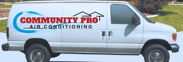 Community Pro Air Conditioning serving Oahu, HI banner