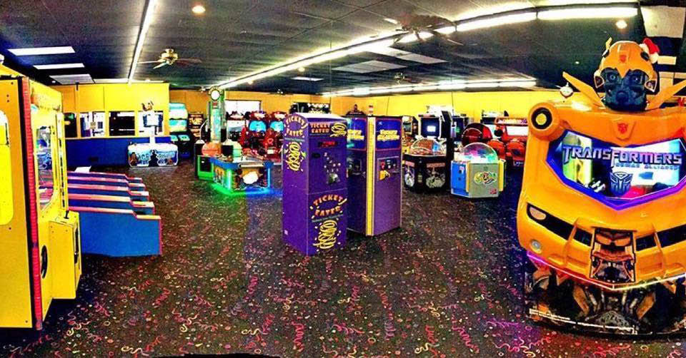 Video game arcade in Independence, MO