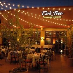 Cork Tree Fine Dining Patio near East Village