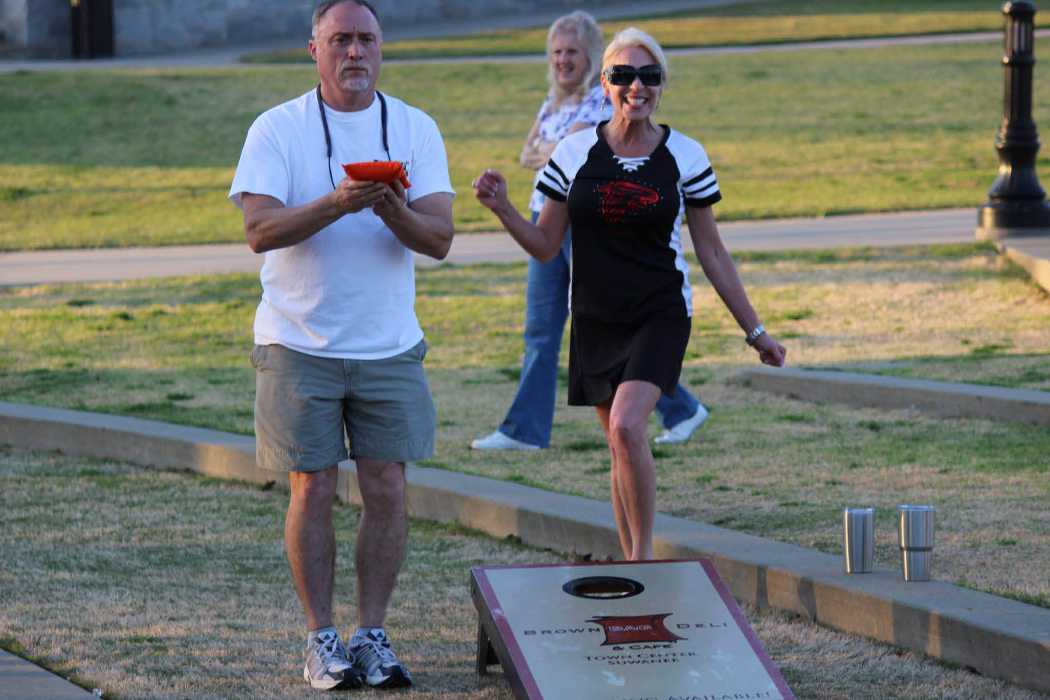 Join a team and play at our next Peach State Cornhole event
