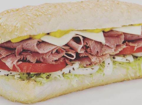 Classic chicago sub at Mr. Submarine.