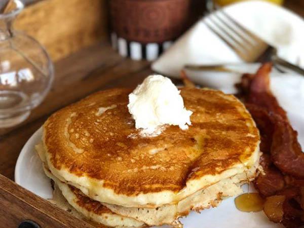 Corner Bakery Cafe pancakes