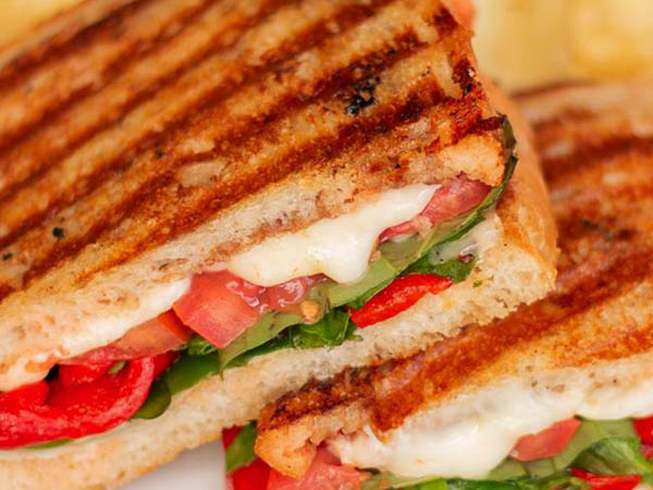 Corner Bakery Cafe panini