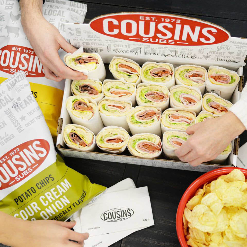 Cousins Subs Greenfield WI Catering Subs