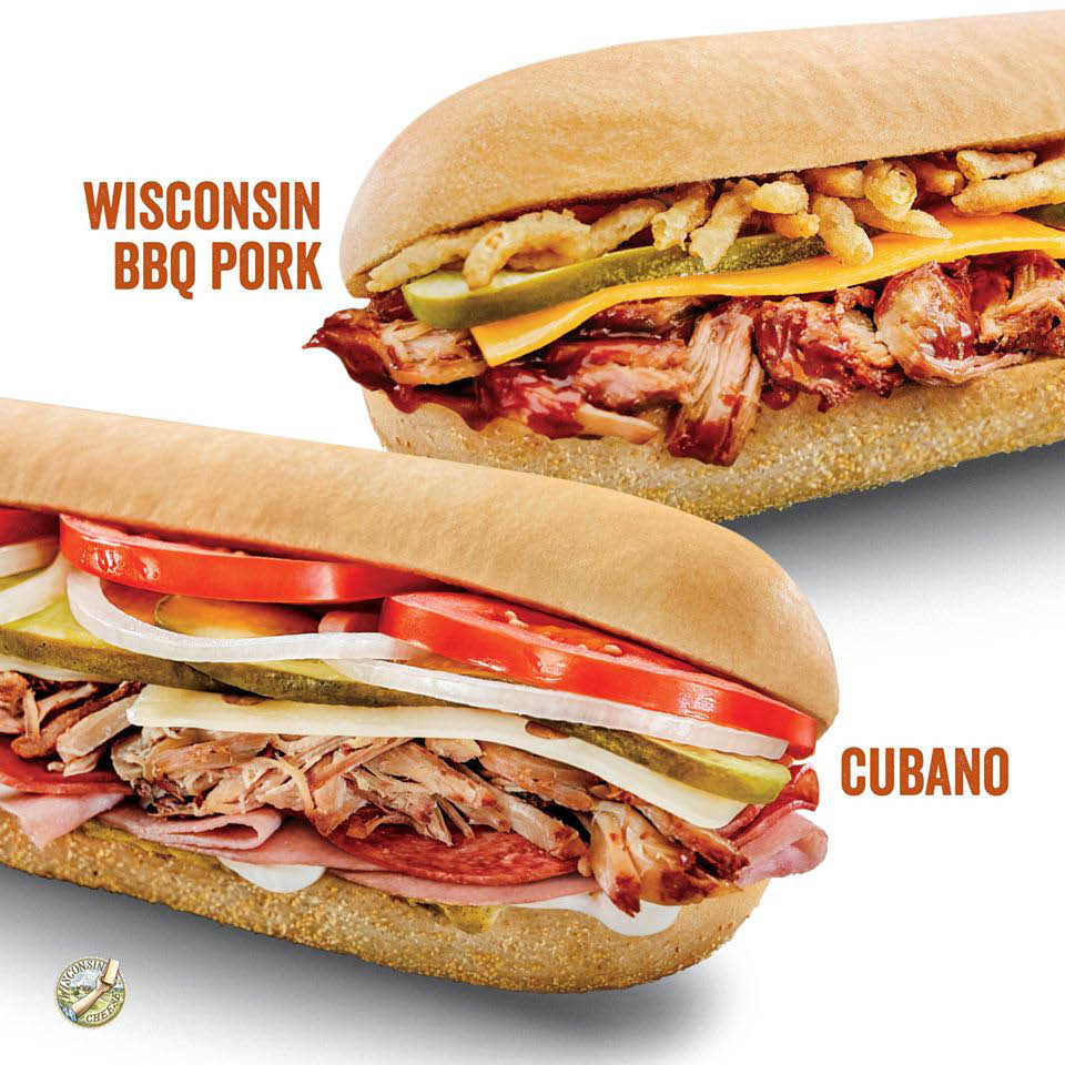 BBQ Pork and Cubano Cousins Subs Greenfield WI