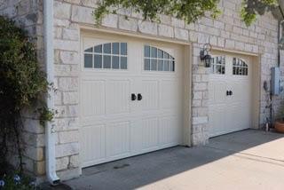 triple garage doors installed by cedar park overhead doors