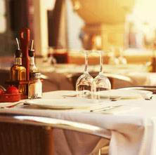 italian restaurant; Cafe Roma located in Gaithersburg, MD