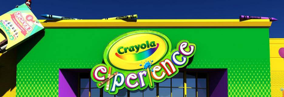 Crayola Experience is Florida's most colorful family destination for interactive, creative play!