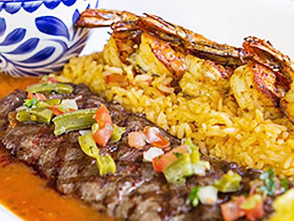 Crazy Burrito steak dishes