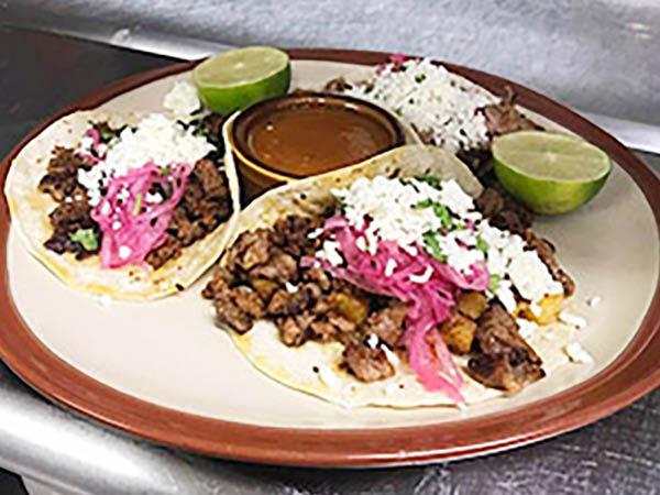Crazy Burrito tacos