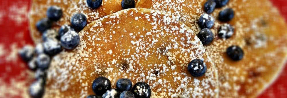 AMY'S BLUEBERRY PANCAKES