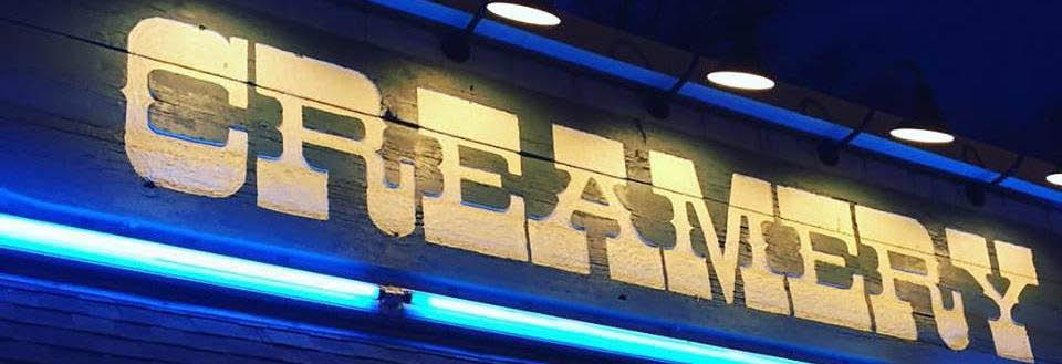The Creamery, neon sign at Mokena location.