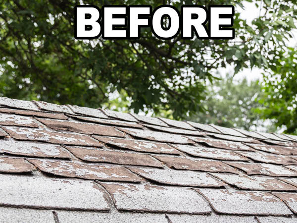 Creative Home Solutions old roof replacement