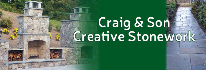 Craig and Sons Creative Stonework Fairfield County CT banner image