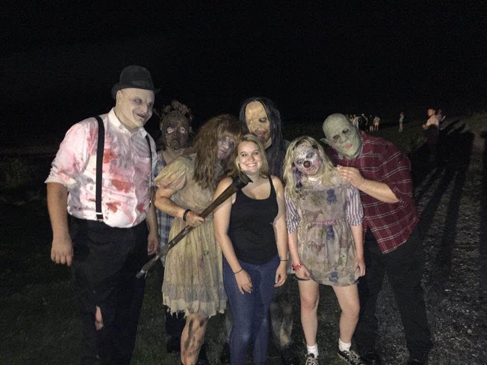 The scare crew at Creepy Hallow