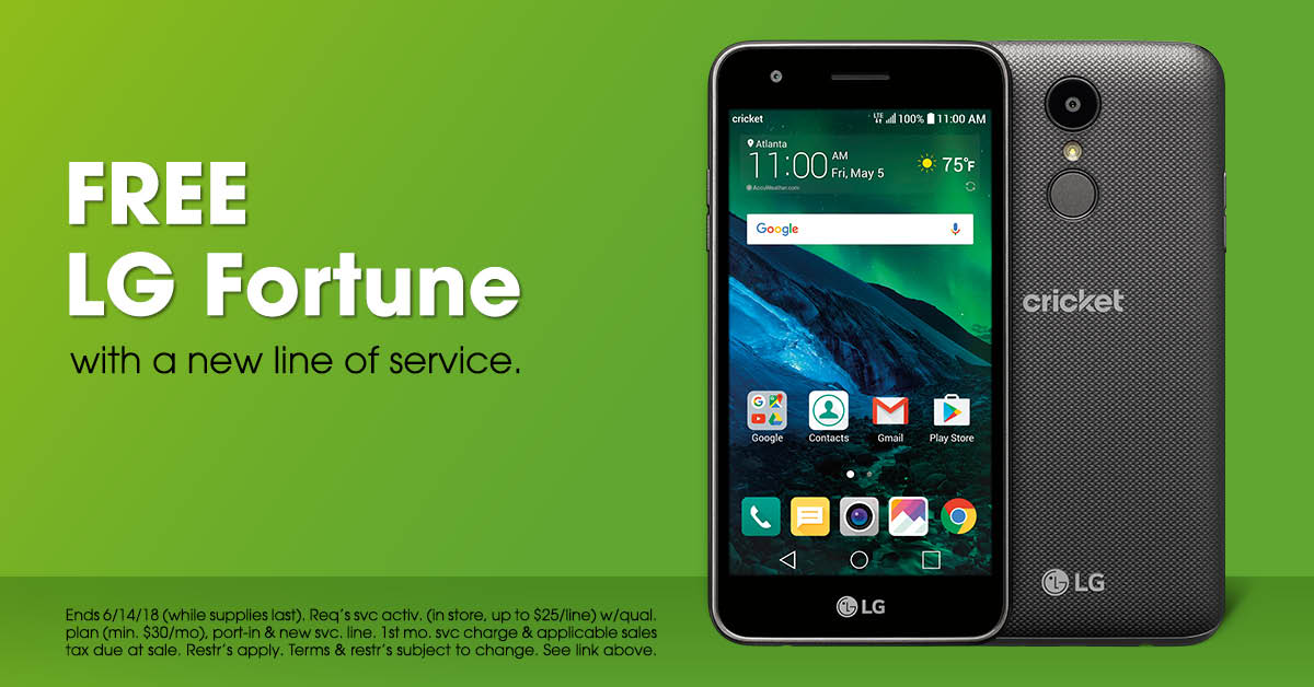 Cricket Wireless Authorized Dealer in Tucker, GA