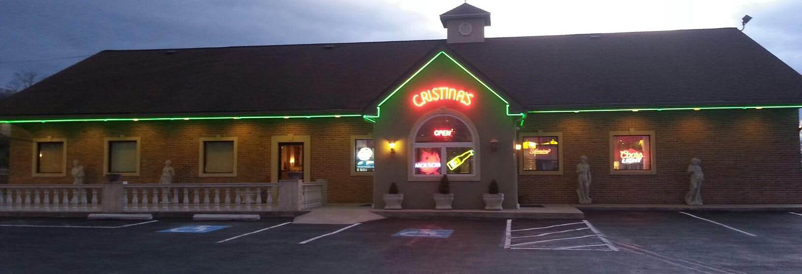Exterior of Cristina's off Hoch Road in Blandon, PA banner