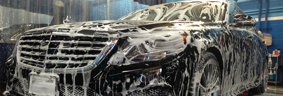 Crista Car Wash, Chevron & Quick Lube banner Santa Clarita, CA