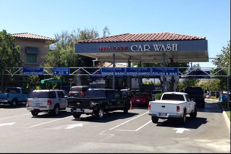 Get a car wash near Canyon Country