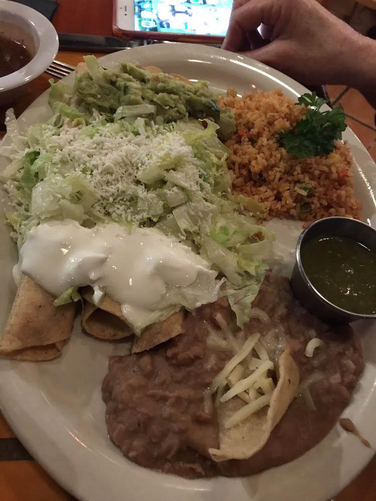 A Mexican recipe entrée near Foster, TX