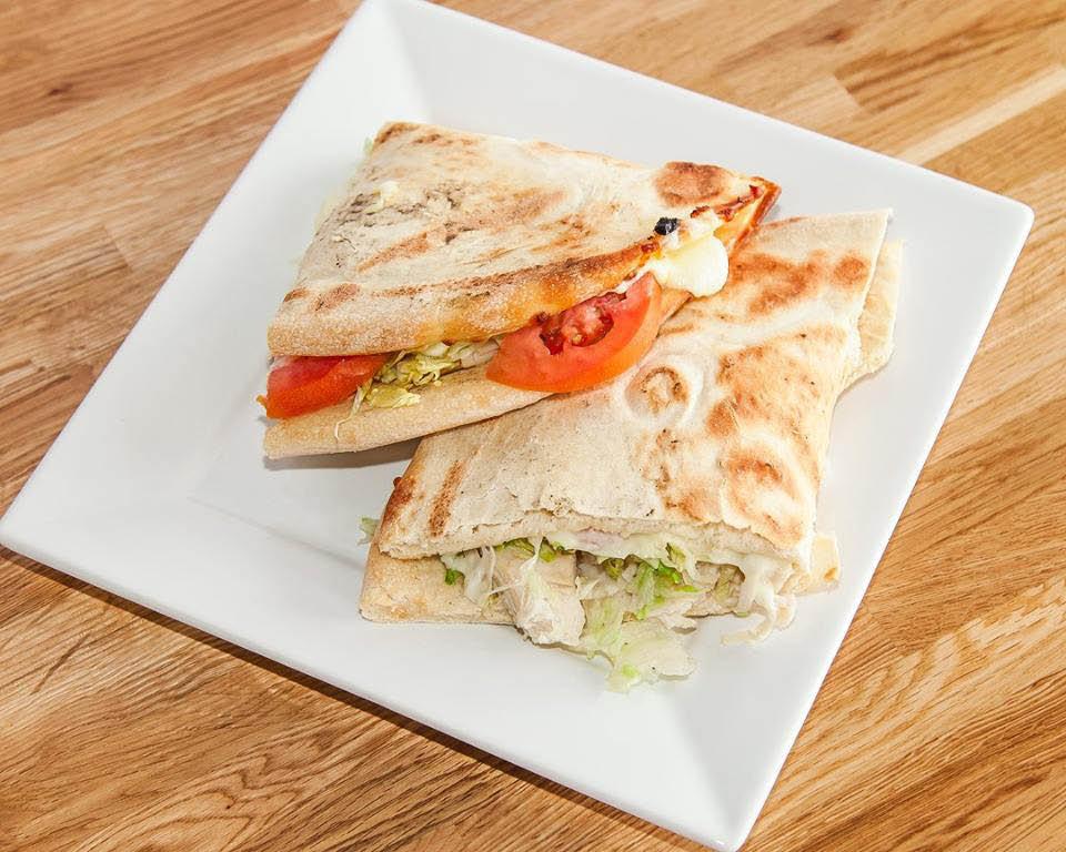 Wedgie sandwich at Crust.