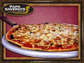 Authentic Chicago Homemade Fresh Pizza from Papa Saverio's Ovens