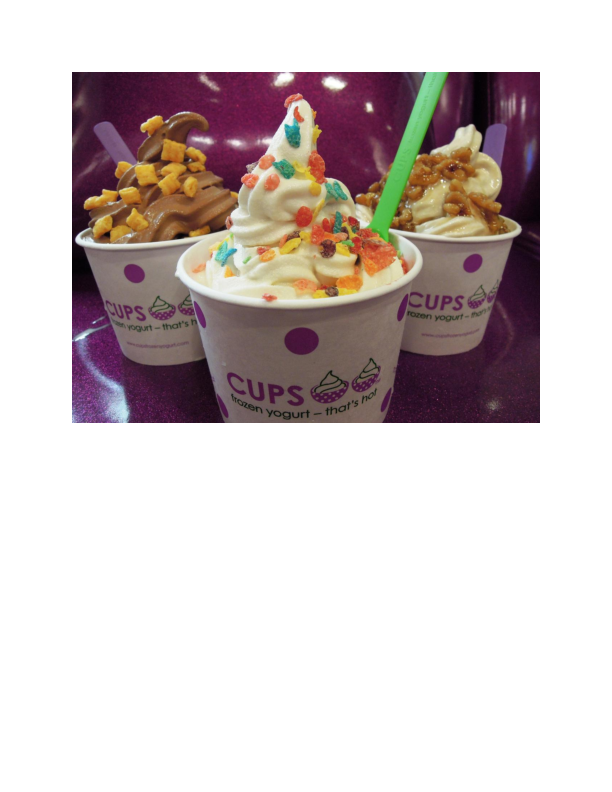 Delicious Cups Frozen Yogurt in Fair Lawn NJ
