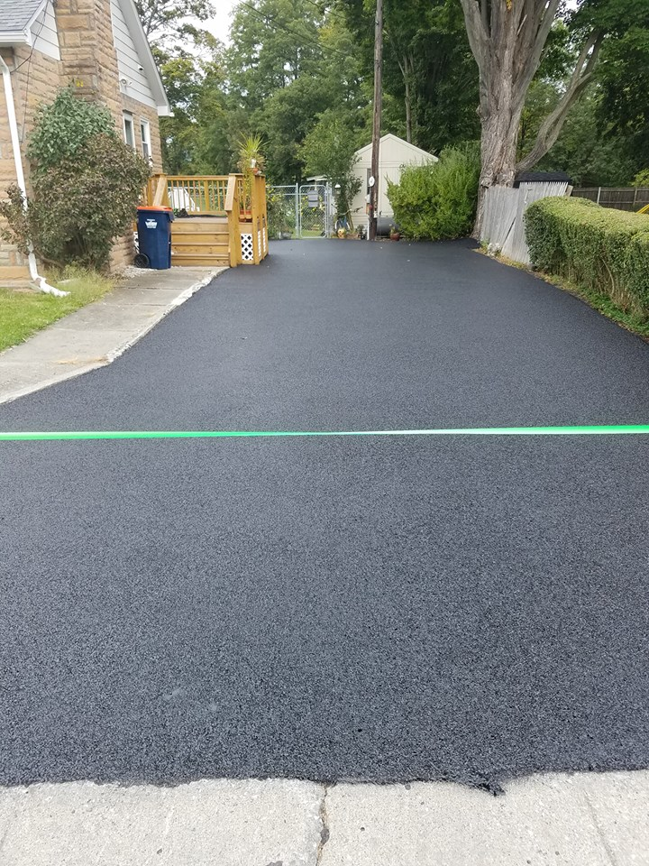 Paved surface gives home added curb appeal
