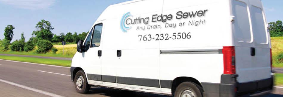 Cutting Edge Sewer service truck banner