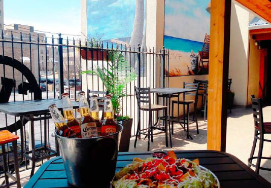 Charles Village Pub & Patio outdoor dining restaurant