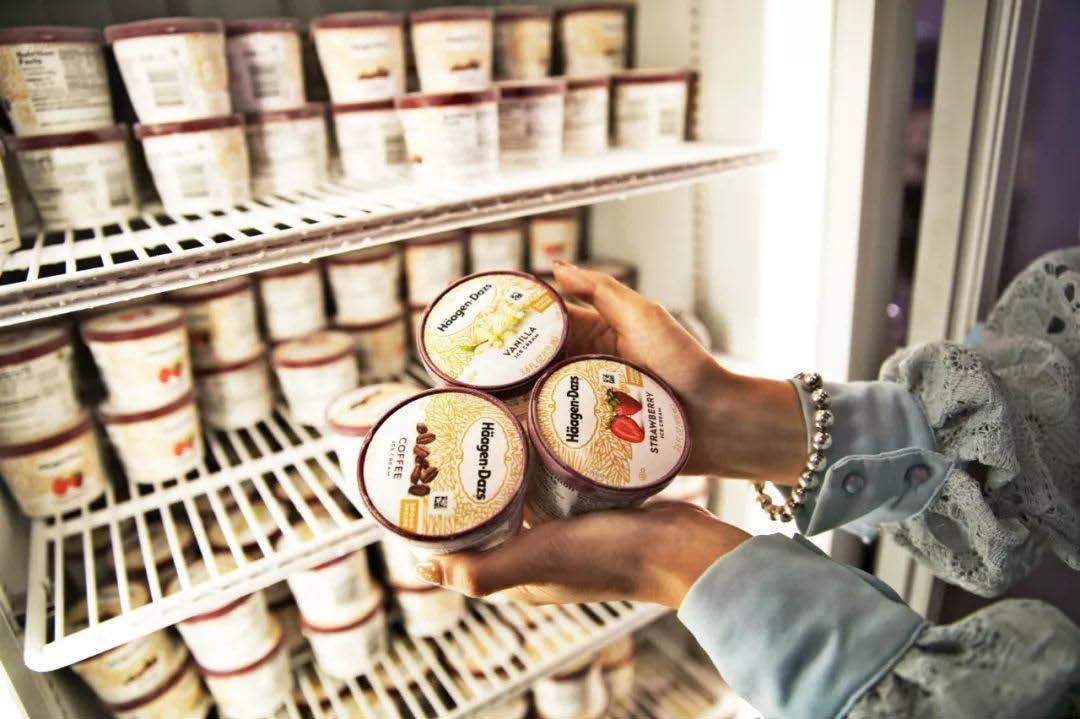 Haagen-Dazs ice cream for dessert