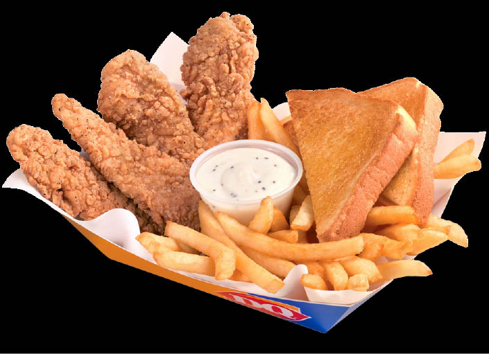 French Fries, Wraps, Hot Dogs, Baskets, Salads, Kids Meals