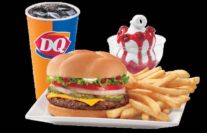 Hamburgers, Hot Dogs, Combo Baskets, Sandwiches, Beverages, Drinks, Treats, Food, Ice Cream Cake